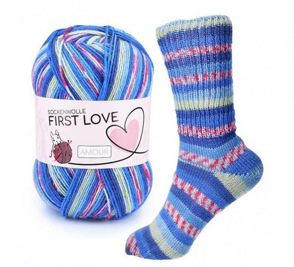 CraSy FIRST LOVE Sockenwolle mit Aloe Vera