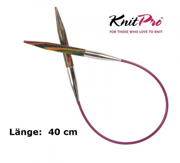 Rundstricknadel SYMFONIE 40 cm KnitPro