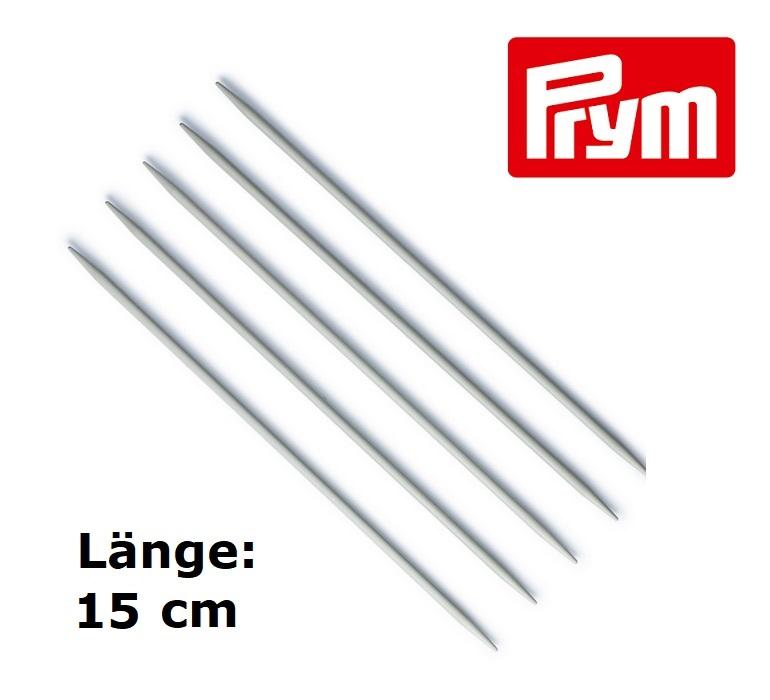 2,5 mm Länge 20 cm Stricknadeln 5 Strumpfstricknadeln Aluminium Gr