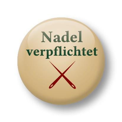 Strickimicki Button - Nadel verpflichtet