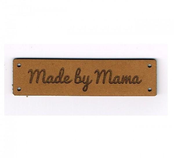 Strickimicki Leder-Etikett - Made by Mama