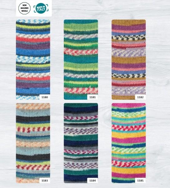 Rellana Flotte Socke Nabucco 4-fädig