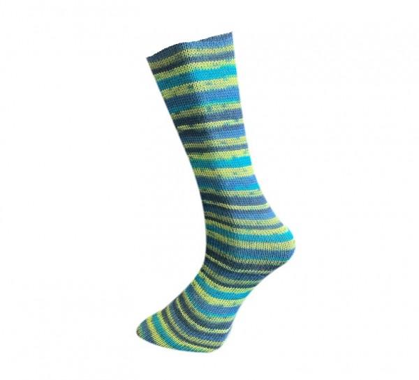 Lungauer Sockenwolle 4-fach Streifen