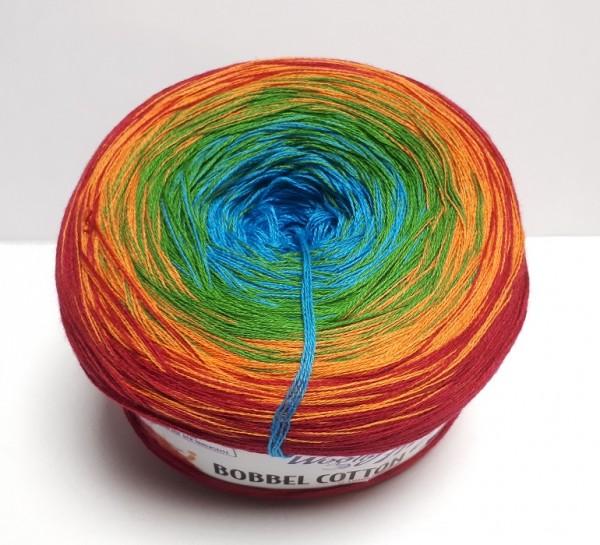 Woolly Hugs Bobbel Cotton Farbverlaufsgarn Farbe 16