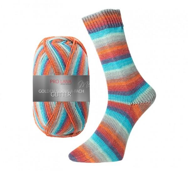 Pro Lana Golden Socks GLITTER Sockenwolle