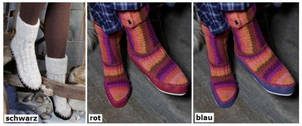 Regia Ledersohlen für Hüttenschuhe oder Socken
