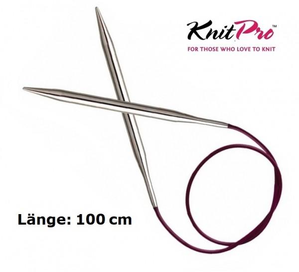 Rundstricknadel NOVA METAL 100 cm KnitPro