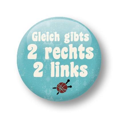 Strickimicki Button - 2 rechts, 2 links