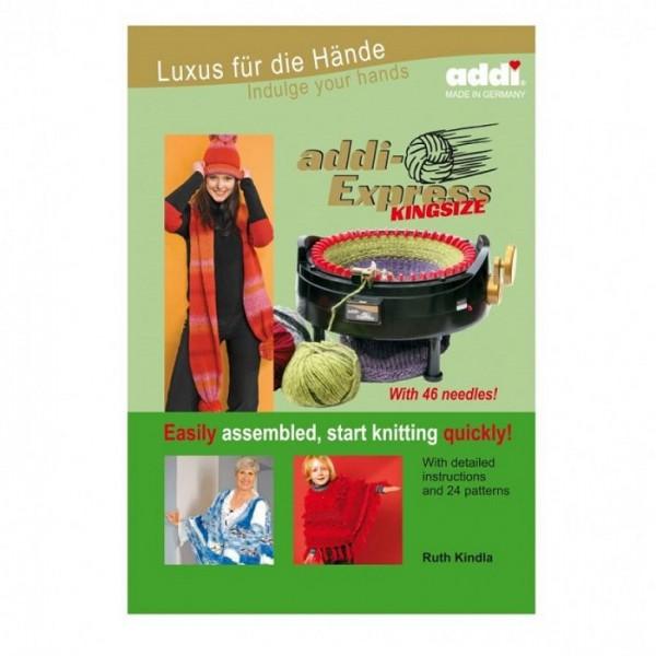 addi-Express Kingsize - easily assembled, start knitting quickly (englisch)