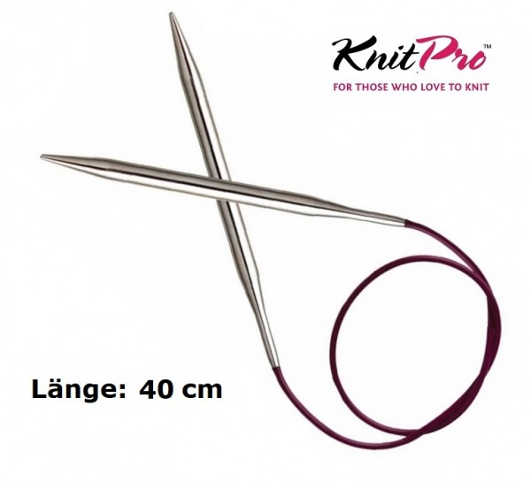 Rundstricknadel NOVA METAL 40 cm KnitPro
