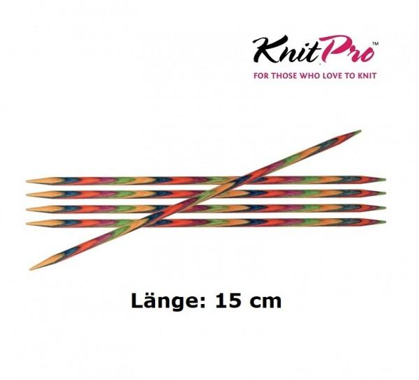 Nadelspiel 15 cm Symfonie Knit Pro