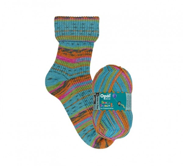 Opal FRECHE FREUNDE 2 Das Klassentreffen Sockenwolle