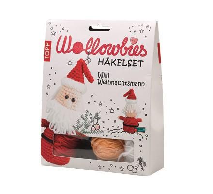 Topp Wollowbies Häkelset Weihnachten