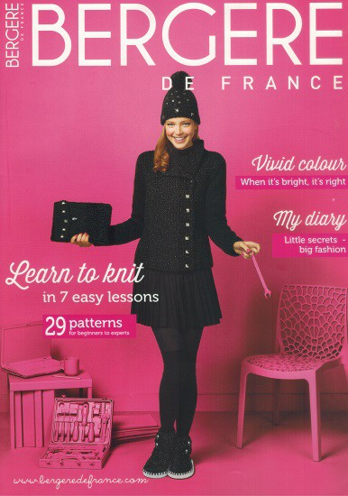 Bergere de France Magazin 175 - Learn to knit