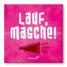 Strickimicki Kühlschrank-Magnet - Lauf, Masche !