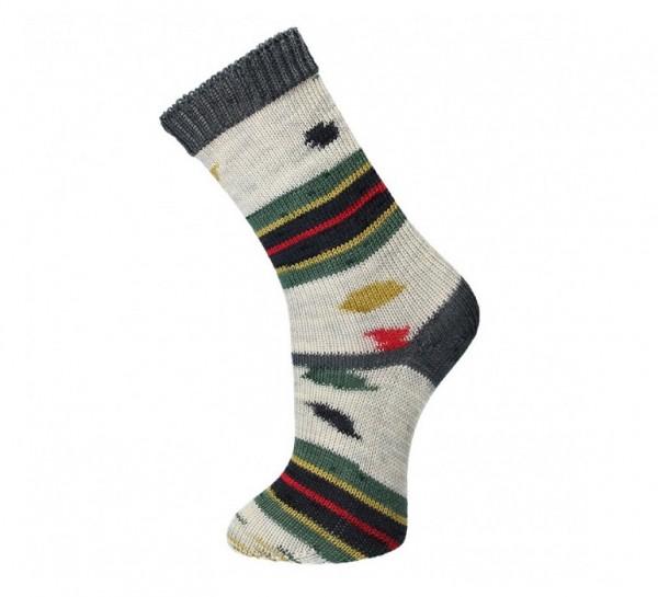 CraSy Sockenzwillinge DOTS Sockenwolle mit Aloe Vera