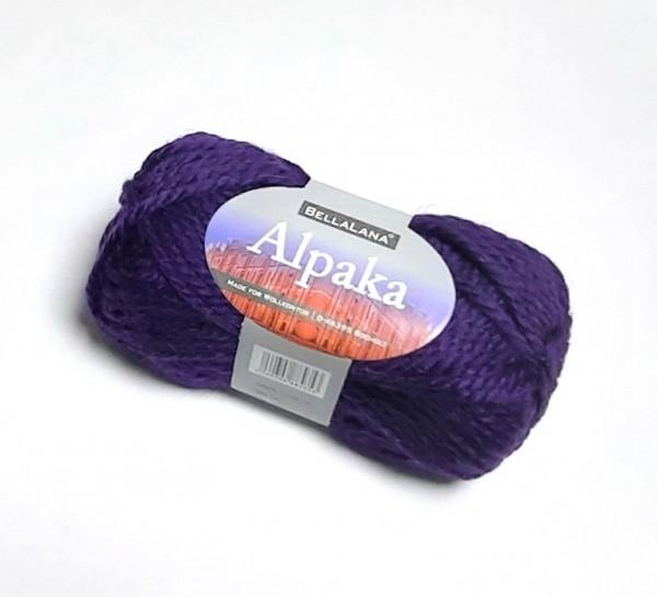 BellaLana Alpaka Wolle violett