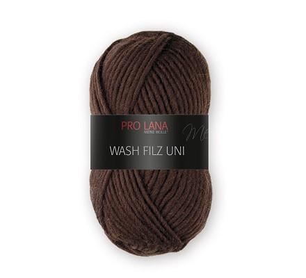 Pro Lana Filzwolle Wash Filz uni