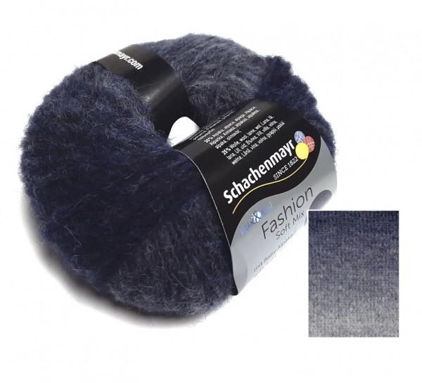 Schachenmayr Fashion Soft Mix Farbe 150 indigo degrade