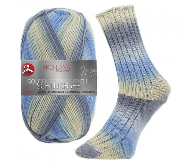 Pro Lana Golden Socks SCHLUCHSEE Sockenwolle