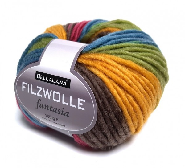 BellaLana Filzwolle FANTASIA 100 g