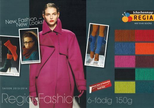 Regia Sockenwolle FASHION 6-fädig 150 g