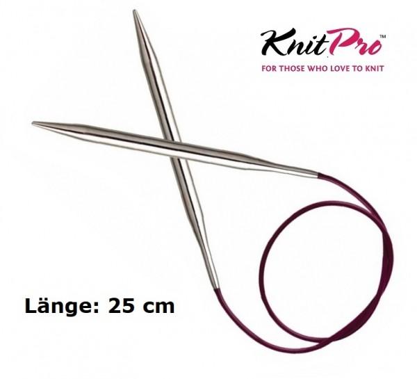 Rundstricknadel NOVA METAL 25 cm KnitPro
