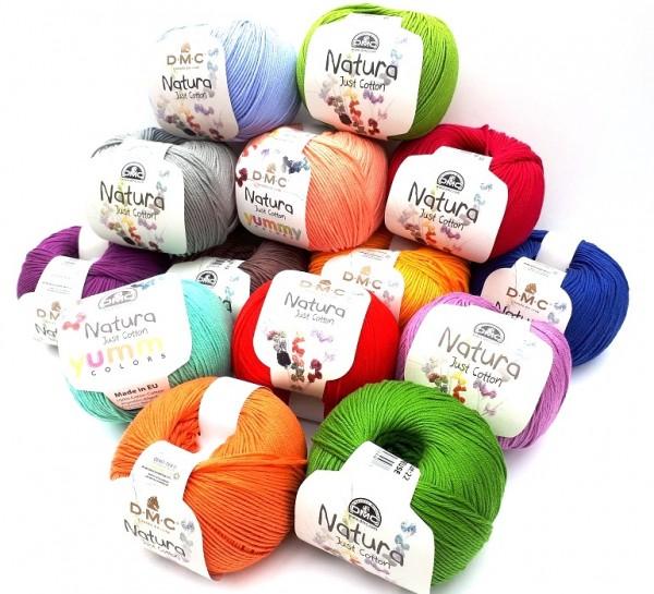 DMC Natura Just Cotton reine Baumwolle