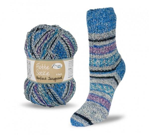 Flotte Socke PERFECT JACQUARD Sockenwolle