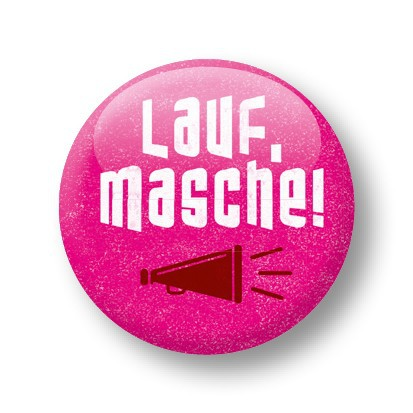 Strickimicki Button - Lauf, Masche !