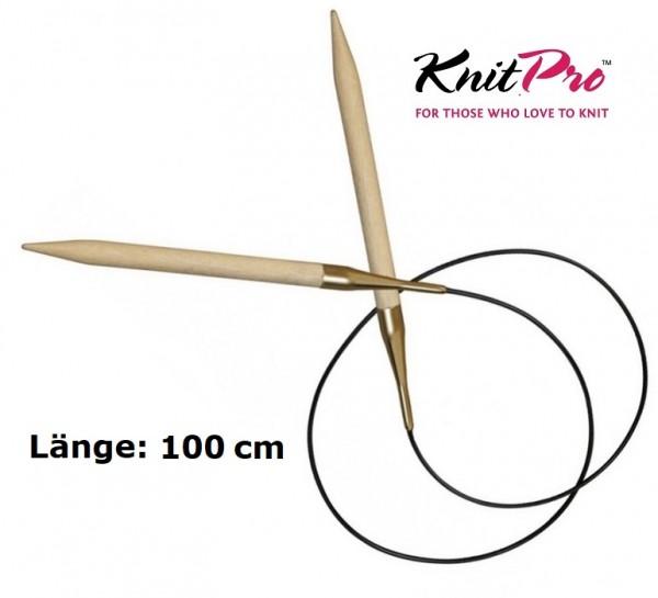 Rundstricknadel BASIX BIRCH Birkenholz 100 cm KnitPro