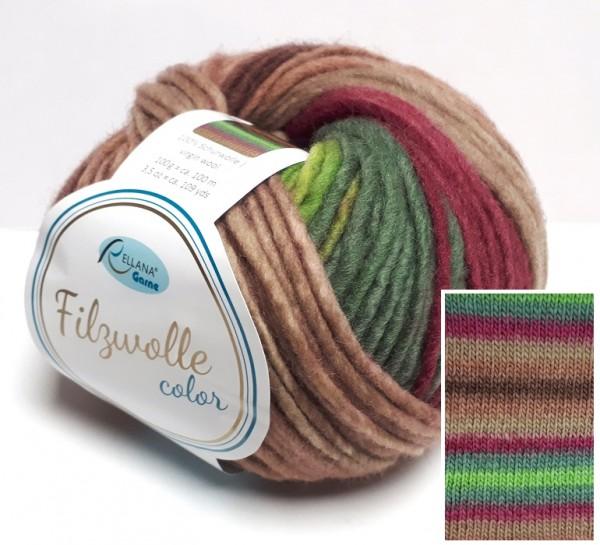 Rellana Filzwolle color 100 g