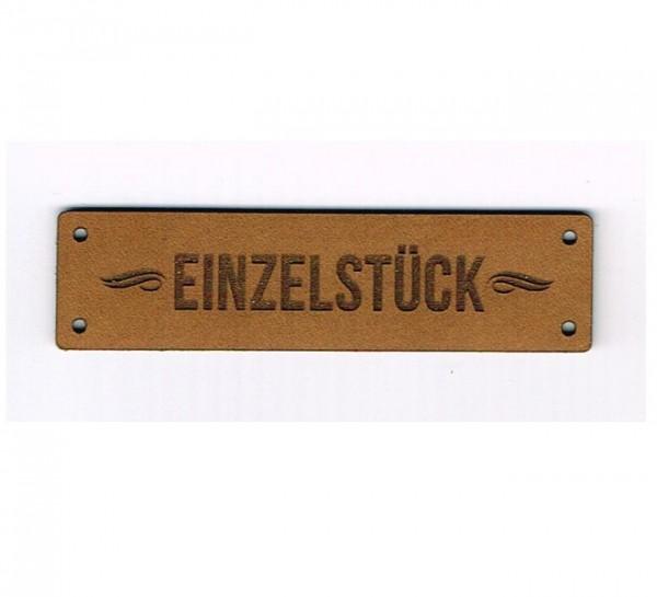 Strickimicki Leder-Etikett - Einzelstück