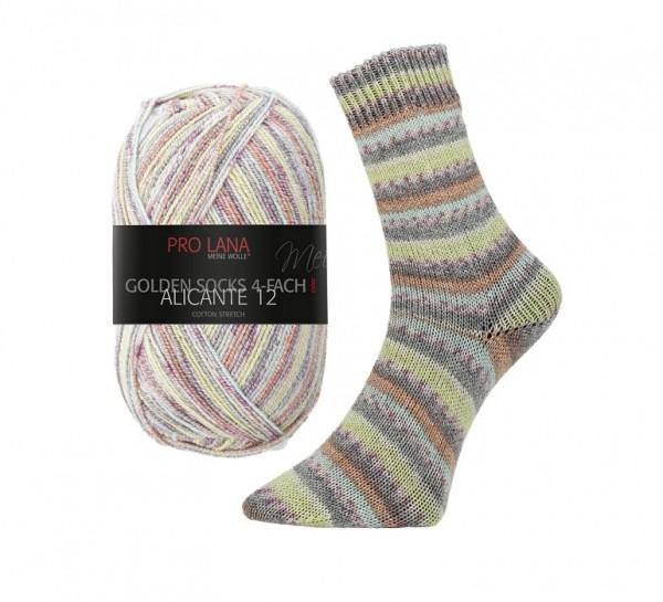 Golden Socks ALICANTE 12 Cotton Stretch Sockenwolle