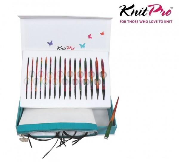 SYMFONIE Nadelspitzen Set COLOURS OF LIFE Geschenkset KnitPro